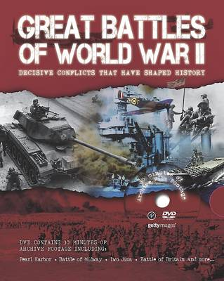 Great Battles of WWII with Footage (Hardback)