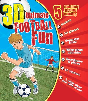 3d Ultimate Football Fun (Spiral bound)