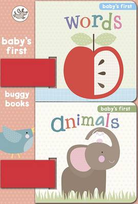Animals and Words: Baby's First Buggy Books (Board book)