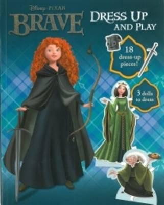 Disney Brave Doll Dressing Book (Paperback)
