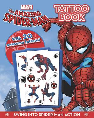 The Amazing Spiderman - Tattoo Book (Paperback)