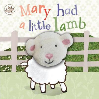 Little Learners Mary Had a Little Lamb Finger Puppet Book (Board book)