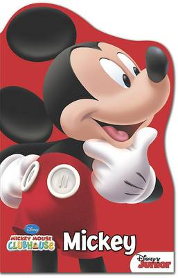 Disney Mickey Mouse Shaped Foam Book (Board book)
