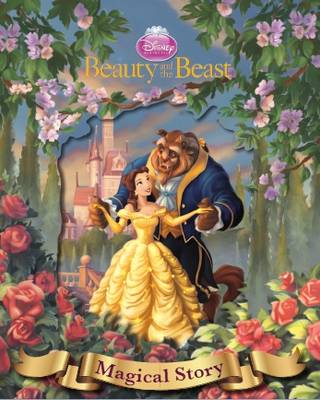 Disney Beauty and the Beast Magical Story with Amazing Moving Picture Cover (Hardback)
