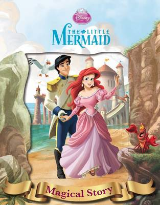 Disney The Little Mermaid Magical Story with Amazing Moving Picture Cover (Hardback)
