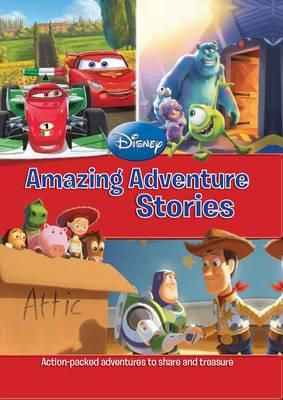 Disney Mega Treasury - Amazing Adventure Stories (Hardback)