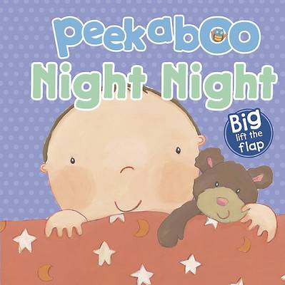 Night Night - Peekaboo Lift-the-Flap Book (Hardback)