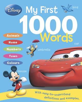 Disney - My First 1000 Words (Hardback)