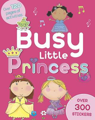 Busy Little Princess Activity Book (Paperback)