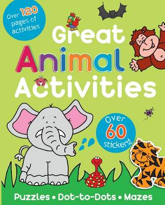Great Animal Activity Book (Paperback)