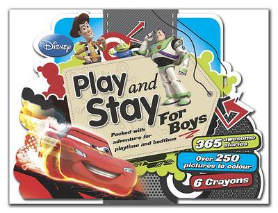Disney Boys Play and Stay Case (Paperback)