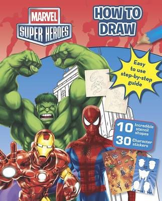 Marvel Super Heroes How to Draw (Paperback)