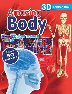 Amazing Body 3d Sticker Scene (Paperback)