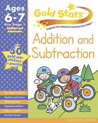 Gold Stars KS1 Addition and Subtraction Workbook Age 6-8 (Paperback)