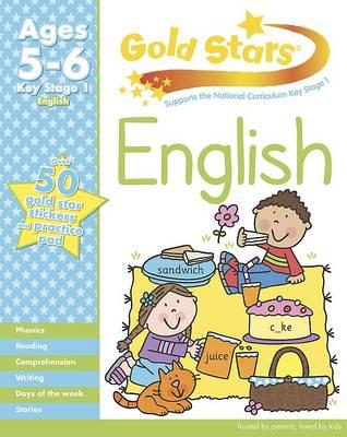 Gold Stars KS1 English Workbook Age 5-7 (Paperback)