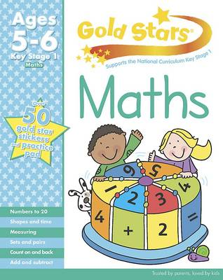 Gold Stars KS1 Maths Workbook Age 5-7 (Paperback)