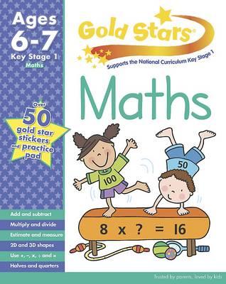 Gold Stars KS1 Maths Workbook Age 6-8 (Paperback)