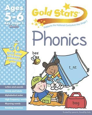 Gold Stars KS1 Phonics Workbook Age 5-7 (Paperback)