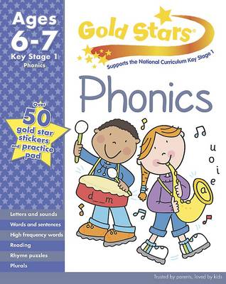 Gold Stars KS1 Phonics Workbook Age 6-8 (Paperback)