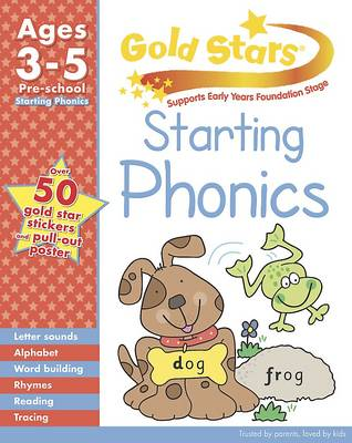Gold Stars Starting Phonics Preschool Workbook (Paperback)