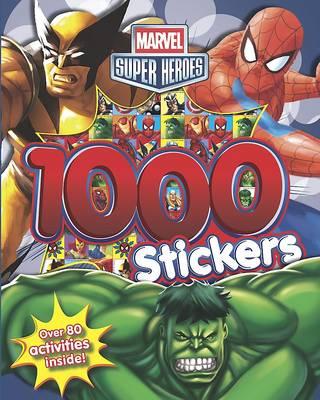 Marvel Super Heroes 1000 Sticker Book (Paperback)