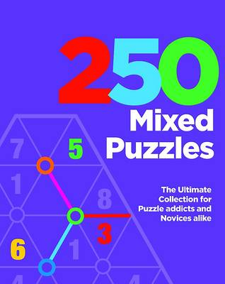 250 Mixed Puzzles (Spiral bound)