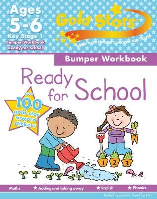 Gold Stars KS1 Bumper Workbook Age 5-7 (Paperback)