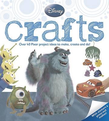 Disney Pixar Crafts (Paperback)