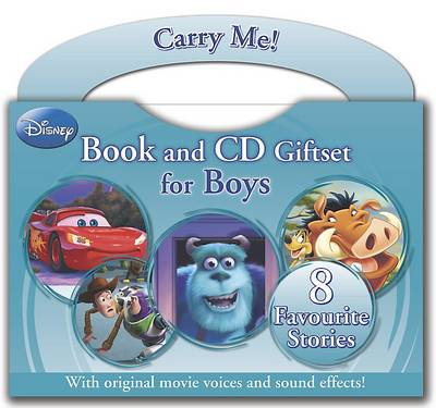 Disney Boys Read Along Book and CD Carry Pack