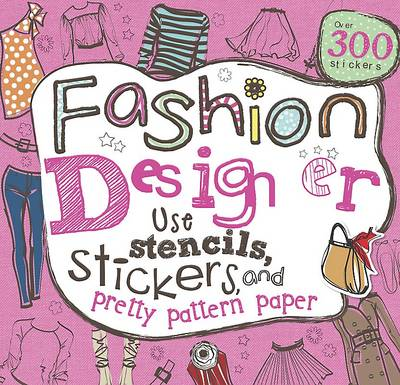 Girls Fashion Doodles Book (Spiral bound)