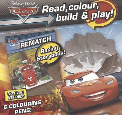 Disney Cars Read, Colour, Build & Play (Paperback)