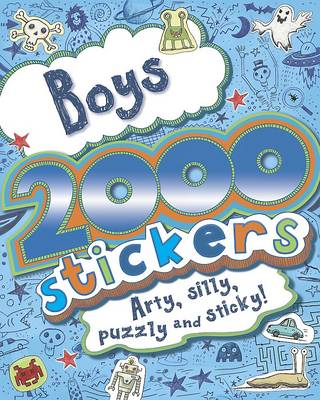 2000 Stickers Book (Paperback)