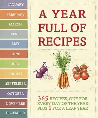 A Year Full of Recipes (Hardback)