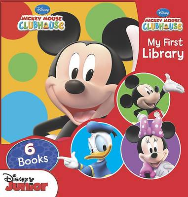 Disney Mickey Mouse Clubhouse Large Library (Paperback)