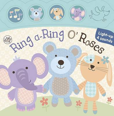Little Learners Mini Sound and Light Book: Ring a-Ring o'Roses (Board book)