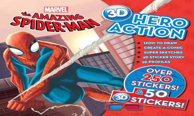 The Amazing Spiderman 3d Hero Action Book (Spiral bound)