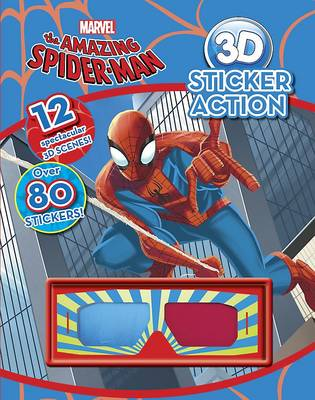 Marvel The Amazing Spiderman 3d Sticker Action (Paperback)