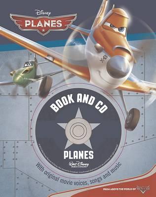 Disney Planes Book and CD (Hardback)