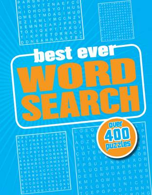 Best Ever Wordsearch (Spiral bound)