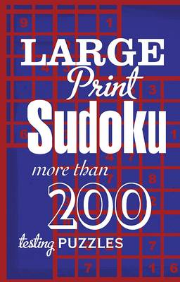 Large Print Sudoku (Spiral bound)
