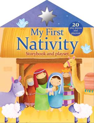 First Christmas Nativity Playset Pack (Paperback)