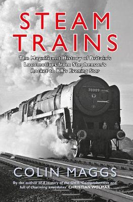 Steam Trains: The Magnificent History of Britain's Locomotives from Stephenson's Rocket to BR's Evening Star (Paperback)