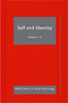Self and Identity - SAGE Library in Social Psychology (Hardback)