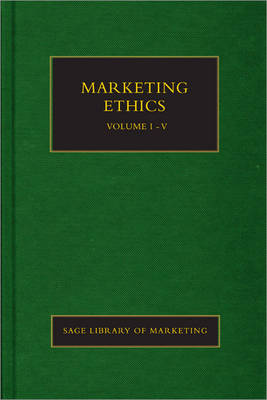 Marketing Ethics - SAGE Library in Marketing (Hardback)