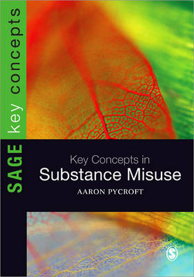 Key Concepts in Substance Misuse - Sage Key Concepts Series (Paperback)
