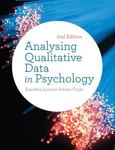 Analysing Qualitative Data in Psychology (Hardback)