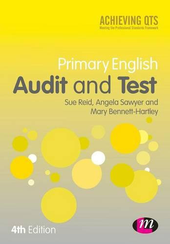 Primary English Audit and Test - Achieving QTS Series (Paperback)