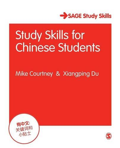 Study Skills for Chinese Students - Sage Study Skills Series (Paperback)