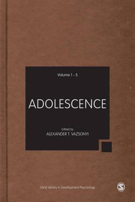 Adolescence - Sage Library in Developmental Psychology (Hardback)