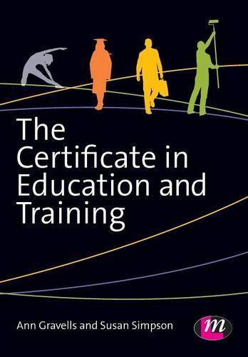 The Certificate in Education and Training (Paperback)
